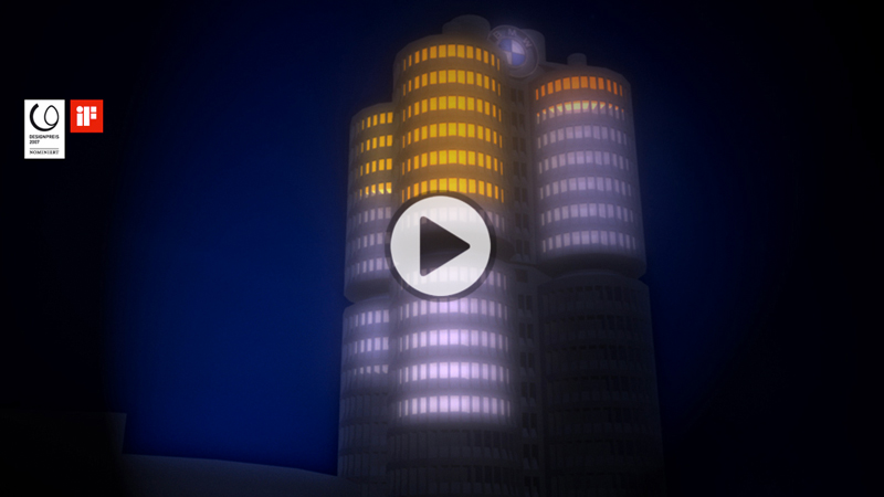 lichtinstallation-bmw