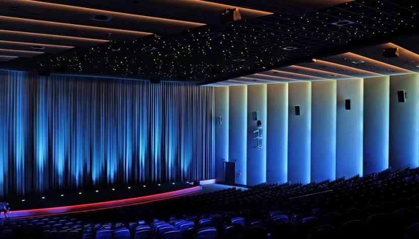Lichtinszenierung für Kino 6 - mk6