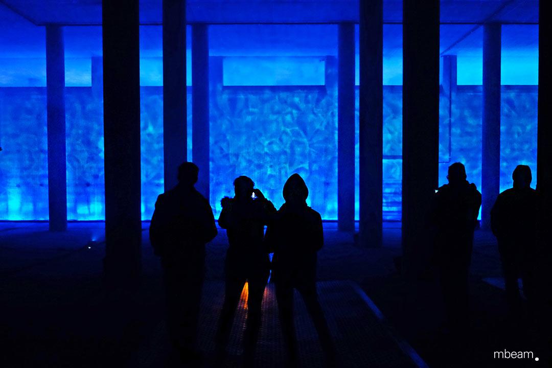 Lichtinstallation Kunst und Architektur