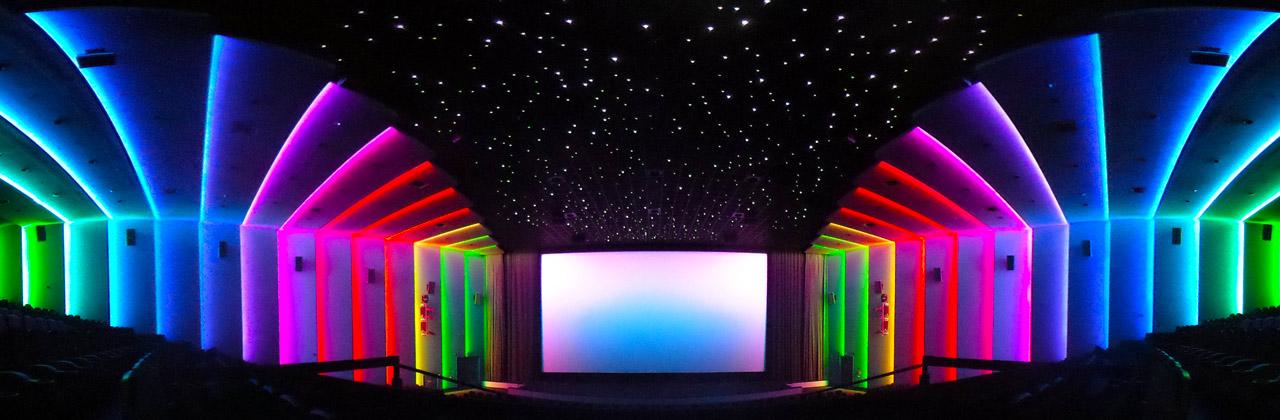 360 Grad Lichtdesign für Kino